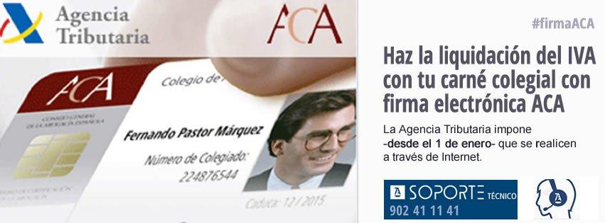 Los abogados pueden presentar telemáticamente las liquidaciones del IVA con su carné digital colegial